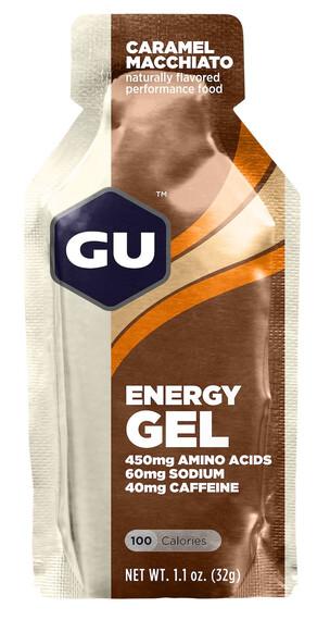 GU Energy Gel - Nutrition sport - Caramel Macchiato 32g beige/marron